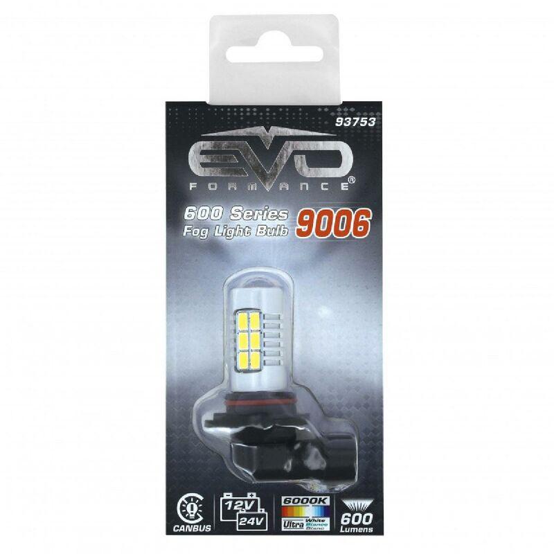 Evoformance - 1 Ampoule LED - 12 24V Canbus HB4 Blanc