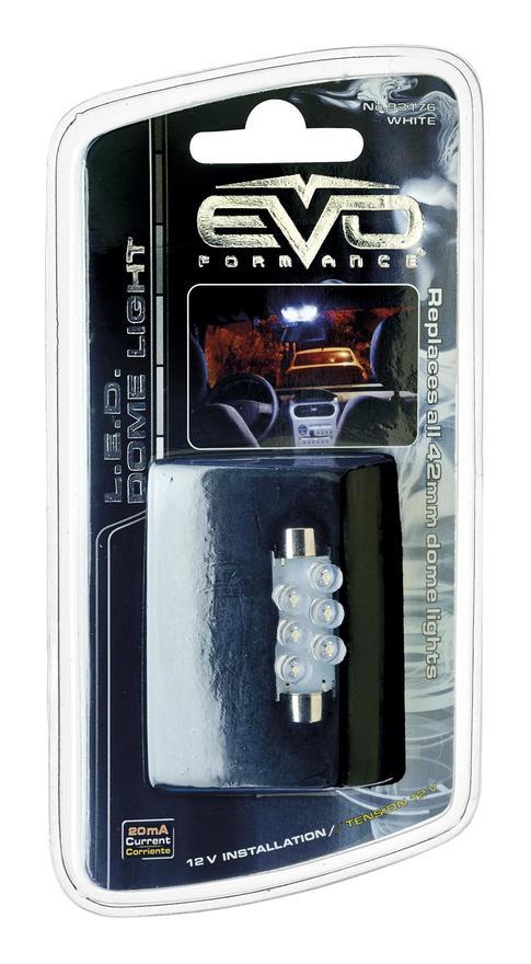 1 Ampoule Led Navette 41MM Blanc