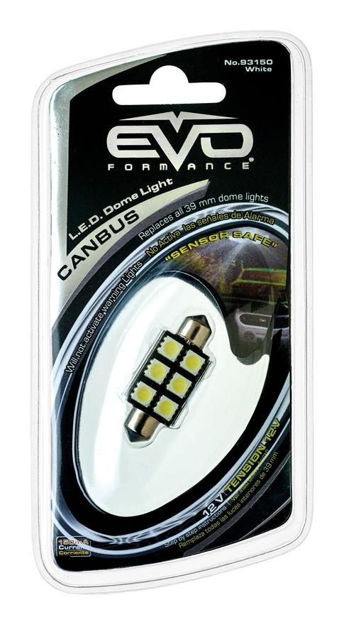 Evoformance - 1 Ampoule Led Navette Canbus 39MM Blanc