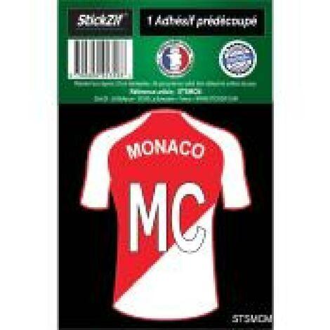 1 Autocollant Maillot De Foot Monaco Generique
