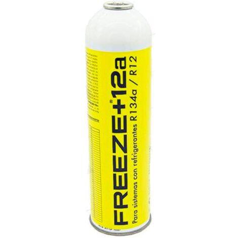 1 Botella Gas Ecologico Refrigerante Freeze +12a 420Gr Organico Sustituto R12, R134A