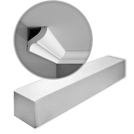 "main image of ""1 Box 22 pieces Cornices Mouldings 44 m Orac Decor CB502 BASIXX"""