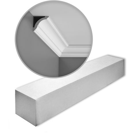 1 Box 22 pieces Cornices Mouldings 44 m Orac Decor CX100 AXXENT