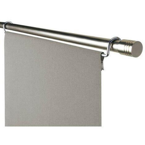1 Chariot pour Panneau Japonais 60 cm Coloris - Chrome mat - Chrome mat