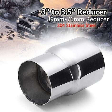 1 conector reductor de tubo de escape de 3 '' a 3,5 ''