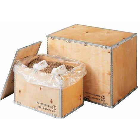 (1 COUVERCLE) Caisse bois contreplaqué - COUVERCLE 1180 x 780 x 585mm