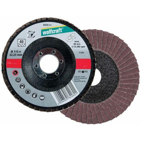 1 discos para metal para amoladora angular Wolfcraft Ø 125