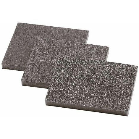 1 esponja de lija 125 x 100 x 10 mm Wolfcraft Grano 60