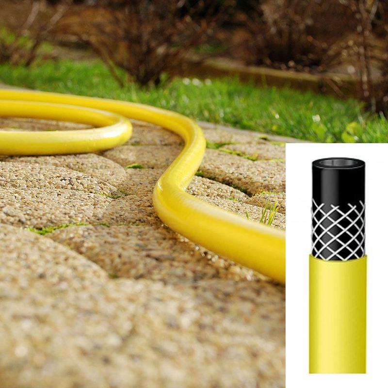 1 Inch Heavy Duty 3 Layer Garden Hose Watering Pipe Reel Hosepipe Price Per Meter