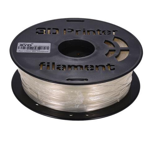 1 Kg / Spool Max Petg 1.75Mm Transparent Diametre Filament Transparence Materiel D'Impression Recharges Pour Imprimantes 3D Dessin Stylos