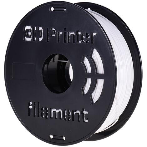 1 Kg / Spool Petg Filament 1.75Mm Diametre Du Support D'Impression Recharges Pour Imprimantes 3D Stylos A Dessin, Blanc