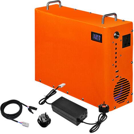 1 kWh central eléctrica portátil 1 kWh generador de batería de litio 220 V AC salida almacén