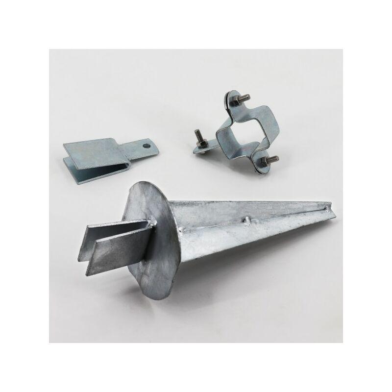 50m Stacheldraht verzinkt 1,6//1,7mm für Wildzaun Forstzaun Knotengeflecht