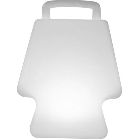 1 Lampe lumineuse CLIINS - LED 16 couleurs - 19 x 19 x 24 cm