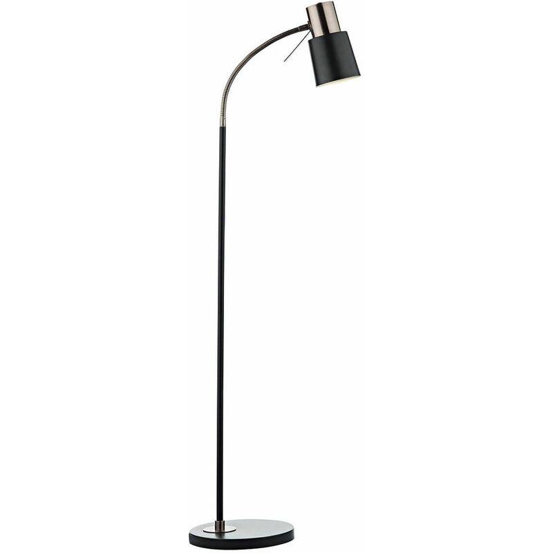 Image of Bond floor lamp copper and black 1 bulb