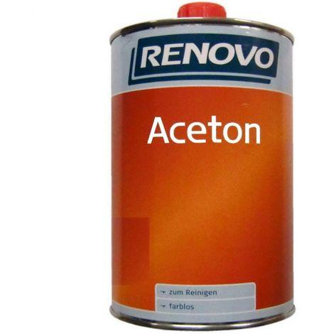 1 Liter Aceton Lösungsmittel Verdünnung für Lacke