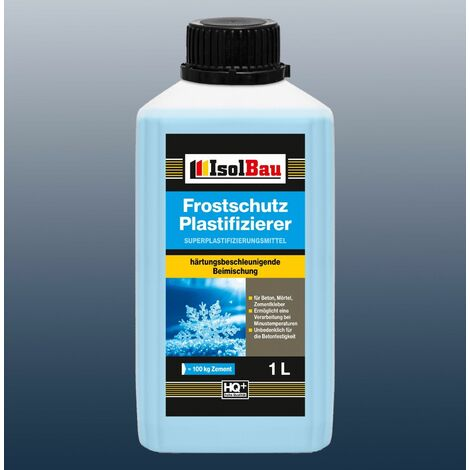 1 Liter Frostschutz Plastifizierer Beton-Zusatzmittel - Betonverflüssiger