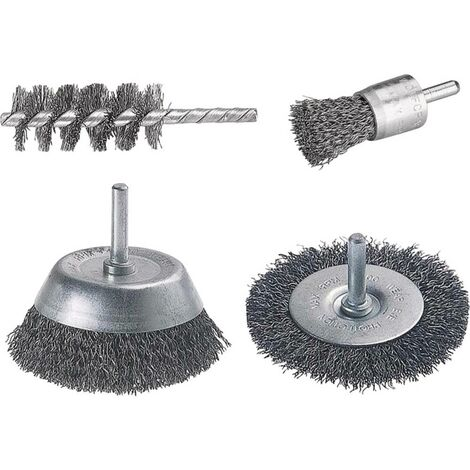 1 lot de brosses Wolfcraft 2133000