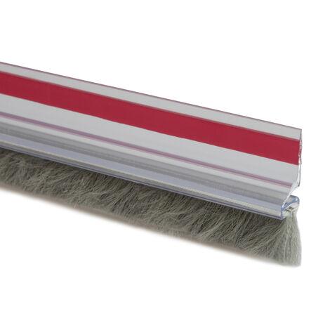 "main image of ""1 m. burlete adhesivo de pelo para suelo desnivelado (Köppels B1001T) (Bolsa con solapa)"""
