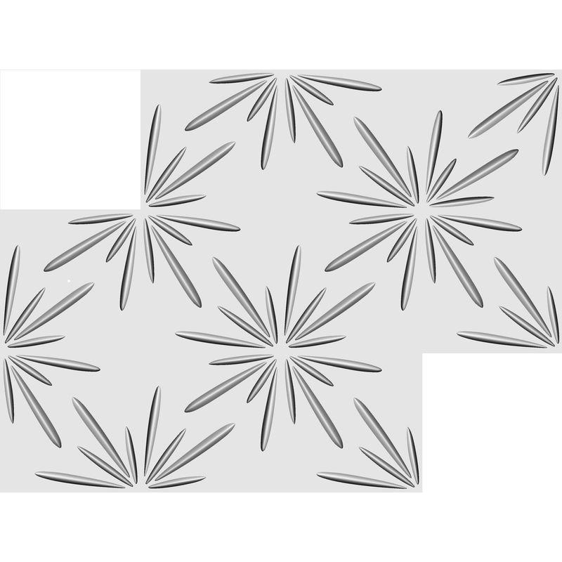 15 qm Paneele 3D Platten 3D Wanddekor Wandverkleidung Decke Wand 50x50cm Elijah
