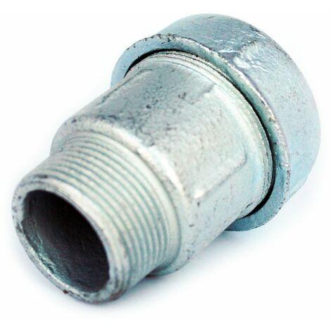 """1 """"mâle compression de tuyau fil x 32 mm raccords conjointes connecteur union bsp"""