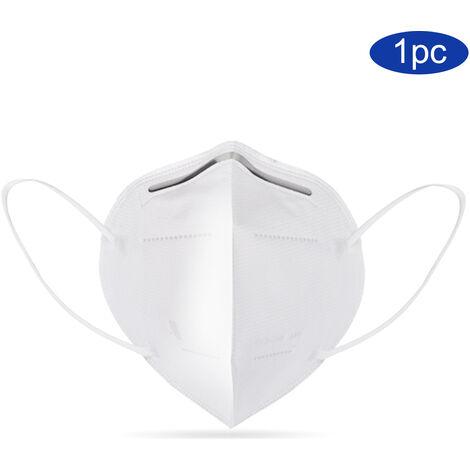 1 mascara KN95, 94% mascarilla desechable de filtracion