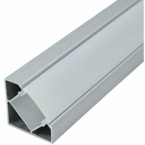 1 Mtr Perfil Aluminio Angular para Tira Led