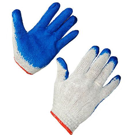 1 Paar Nitril Arbeitshandschuhe Strickhandschuhe Grobstrick 3 Farben