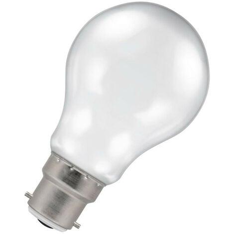(1 Pack) Crompton Lamps LED GLS 4.5W BC-B22d Harlequin IP65 (25W Equivalent) White BC Bayonet B22 A60 Outdoor Festoon Coloured Filament Light Bulb