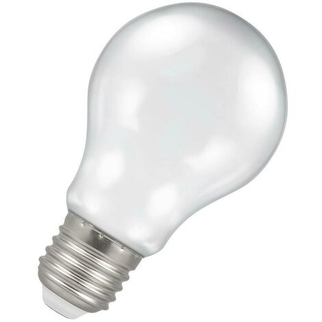 (1 Pack) Crompton Lamps LED GLS 4.5W ES-E27 Harlequin IP65 (25W Equivalent) White ES Screw E27 A60 Outdoor Festoon Coloured Filament Light Bulb