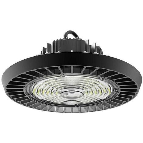 (1 Pack) Phoebe LED High Bay 200W Keto IP65 IK10 4000K Cool White 90° Black 24000lm Warehouse UFO Light