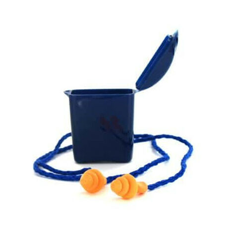 1 pair of earplugs with 3M 1271 cords