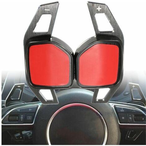 1 Pair Shift Steering Wheel Extension Paddle For Audi A1 A3 A4 A6 A7 A8 Q5 Q7 TT R8