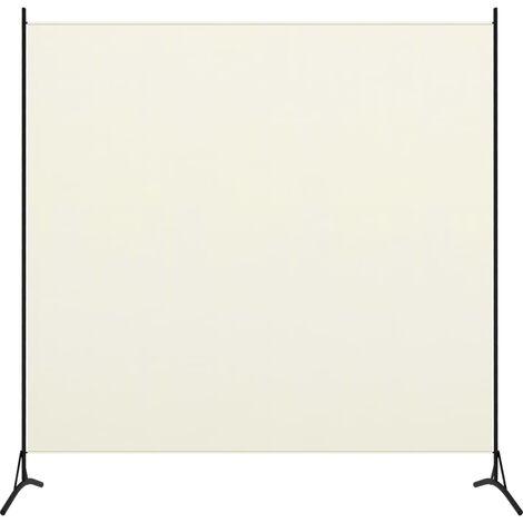 1-Panel Room Divider White 175x180 cm