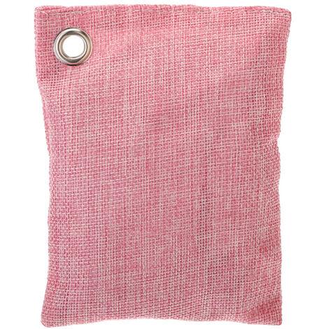 1 paquet de 100 g de sac de charbon de bambou pour le charbon active a la maison absorbeur d'odeurs plus frais eliminer l'humidite du moule TVOC purifier l'air pour l'armoire de garde-robe de voiture de maison,modele: vert clair 1 paquet