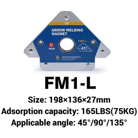 1 PC 3 Angle de localisation de soudure magnétique support d'aimant de soudage flèche soudeur positionneur L