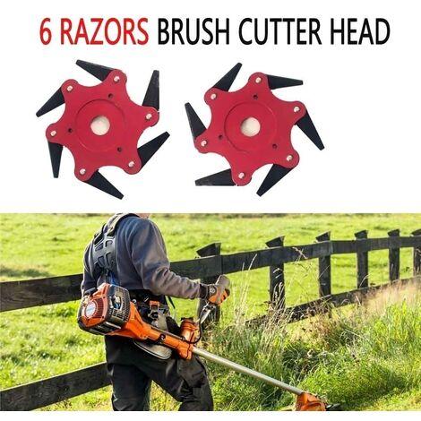 1 Pc 65 Mn Steel Raz0R Update Mower Head Cutter Garden Grass Tool Fit Lawn Mower
