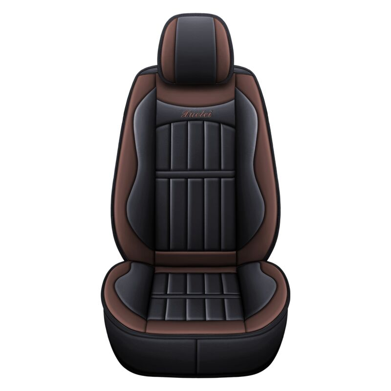 1 pcs car leather seat cover coffee
