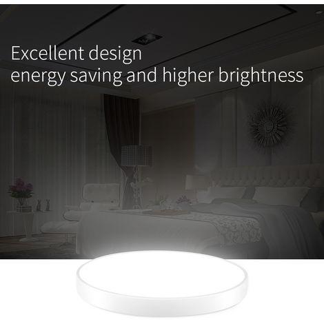 1 PCS LiVing - Lámpara de techo LED para cocina, baño, ultra delgado y redondo