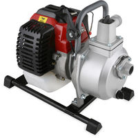 """1"""" Petrol Water Pump (12,500 l/h, 2 HP Petrol Engine, 1 Inch Connection, 17.5 m Head, 7 m Lift, Recoil Starter)"""