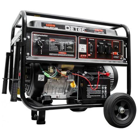 "1-Phasen Benzin-Stromerzeuger 6,3 KW Lichtstrom 230V E-Start-""WK2000010014"""