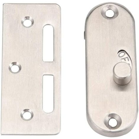 1 Piece 90 Degree Sliding Door Lock, Buckle Hook Lock Bolt, 90 Degree Right Angle Door Latch, Right Angle Door Lock, Barn Door Lock