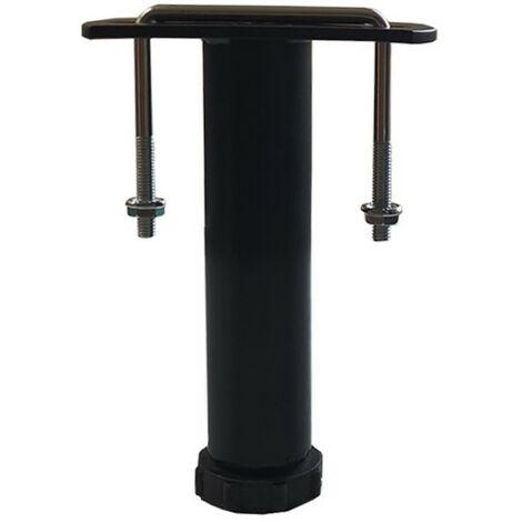 1 pied de liaison métal H 14 à 25 cm pour sommier métal