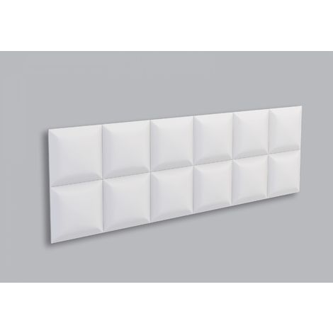 1 Pieza Panel 3D Decorativo de Poliuretano SQUARE