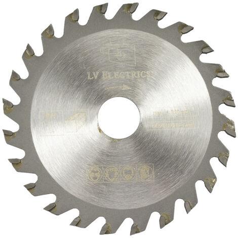 1 piezas de diametro 85 mm 24 T Mini disco de sierra circular discos de rueda hoja de corte de madera,85 * 15 * 24 dientes
