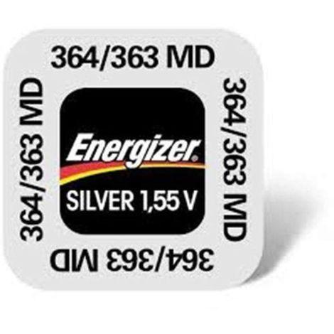 1 Pile 364/363 Silver ENERGIZER