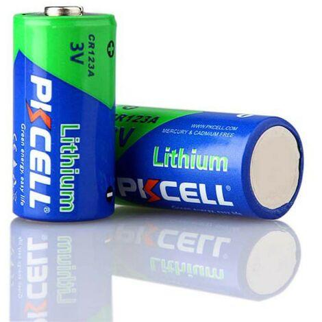 1 Pile CR123A Lithium 3V PKCell