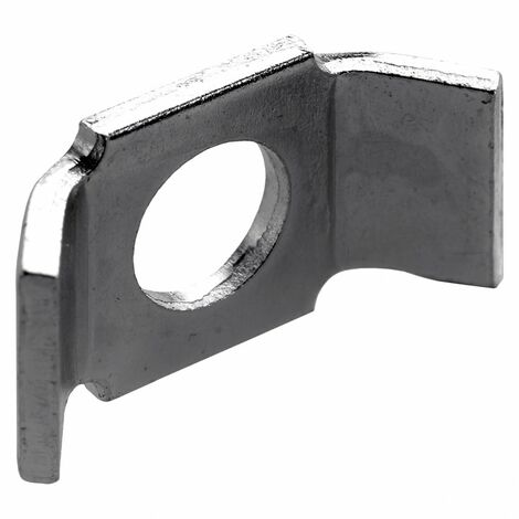 1 plaque de tension pour vis d'assemblage acier zingué HETTICH, l.20 mm