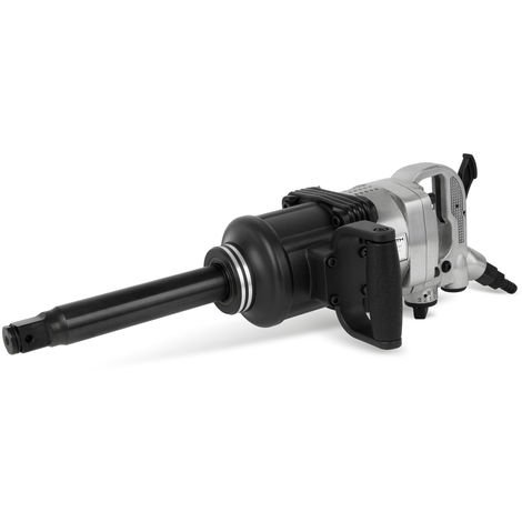 "1"" Pneumatic Impact Wrench with Extension (1620 Nm Torque, 1/2"" Air Connection, High-quality strinking Mechanism, 3 Torques left and right)"