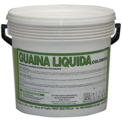 1 PZ Di GUAINA LIQUIDA RESINOSA BIANCA KG.20